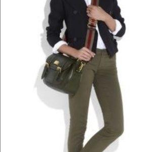 Marc Jacobs Sophie Saddlery Crossbody Saddle Bag